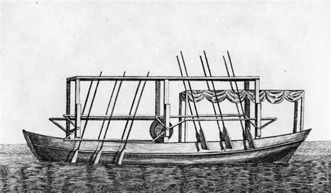 barco de vapor 1787 john fitch john fitch built the first steamboat in the united states