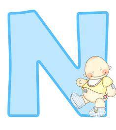 letras de baby shower para imprimir montando minha festa alfabeto e n 250 meros beb 234 menino