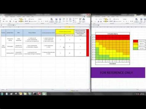 Fmea Template And Exle Excel Video 119 Youtube Fmea Template Excel