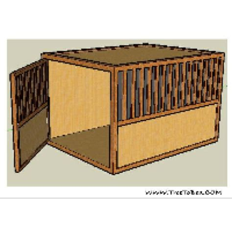 wooden crate couch 32 best wooden dog crate images on pinterest dog crates