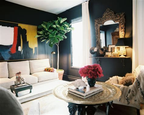 decorate wall how to decorate with dark walls lonny
