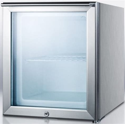 front door freezer summit ff22lglcss7 compact commercially listed all freezer