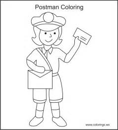 free coloring books by mail post office coloring page coloring home