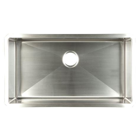 Home Depot Kitchen Sinks Stainless Steel Frankeusa Dual Mount Stainless Steel 19x17x8 3 Single Bowl Kitchen Sink Bmsk803 The Home
