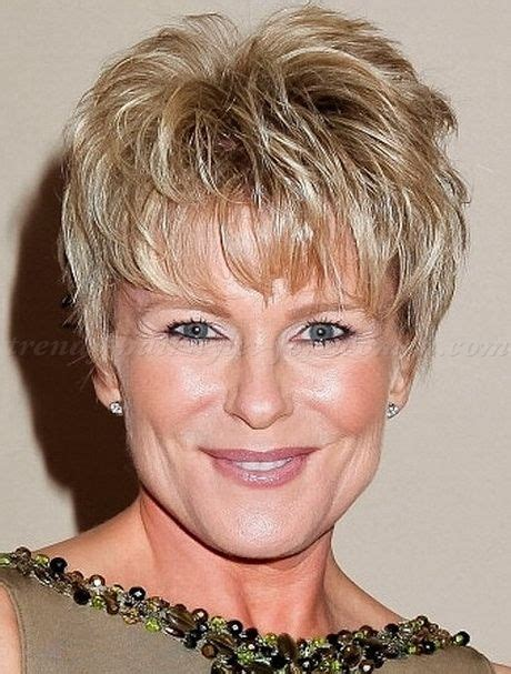 haircuts with description short hairstyles for women over 50 with thick hair an