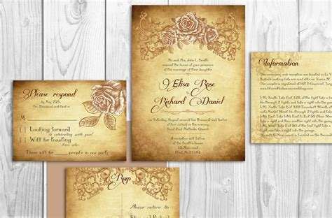elegant wedding invitation printable printable lace elegant wedding invitations by