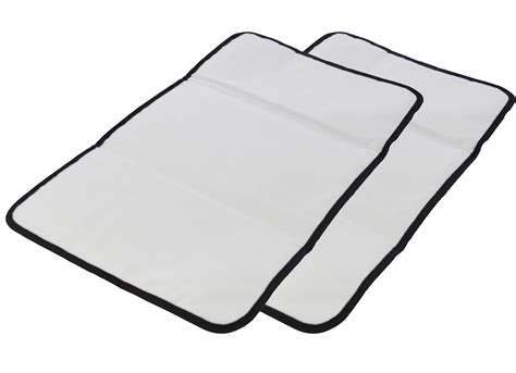 large changing pad amazon com obersee 2 count baby changing mat black