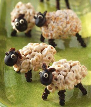 Cute Dads in the Kitchen: How to Make Marshmallow Sheep