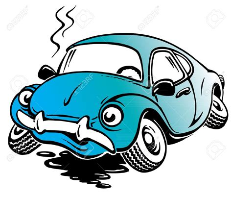 wrecked car clipart crash clipart damaged car pencil and in color crash