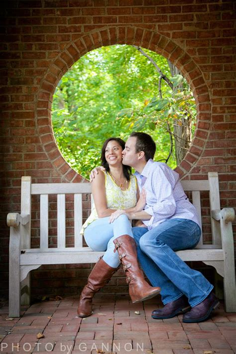 Atlanta Botanic Garden Atlanta Botanical Garden Engagement Photography Atlanta Wedding Photographer Photo By Gannon