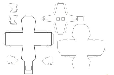 Blank Papercraft - the gallery for gt blank papercraft templates