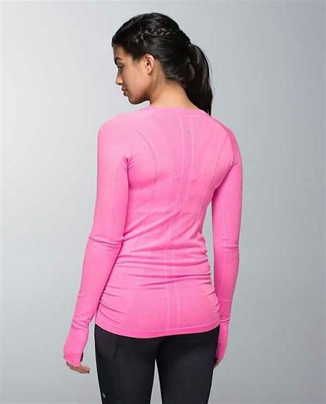 light pink workout clothes 36 best lululemon swiftly images on workout
