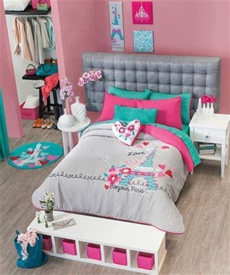 paris comforter set twin new girls gray aqua blue pink paris comforter bedding