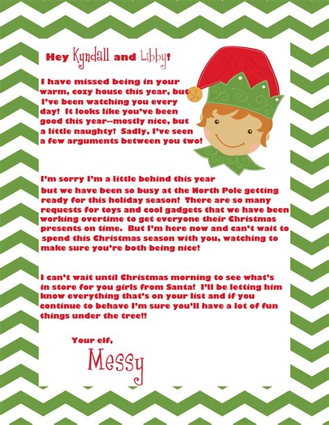 printable elf welcome letter elf on the shelf welcome letter crazy beautiful life