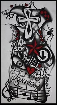 my tattoo sleeve design by jemdot on deviantart