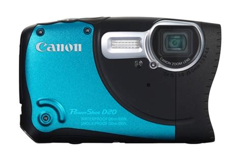 Waterproof Kamera Dslr Canon canon powershot d20 underwater introduced