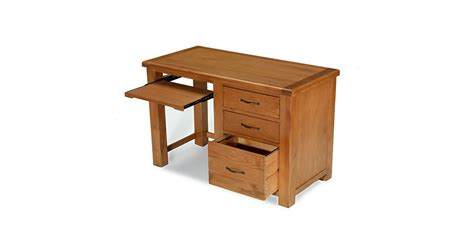 Emsworth Oak Office Desk Lifestyle Furniture Uk Oak Office Desks