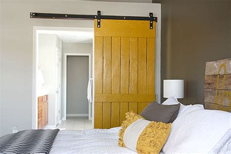 Yellow Barn Door House Tweaking