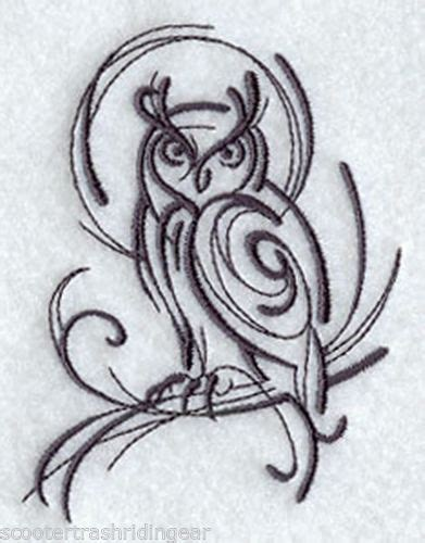 owl tattoo line drawing owl tribal crafts diy pinterest