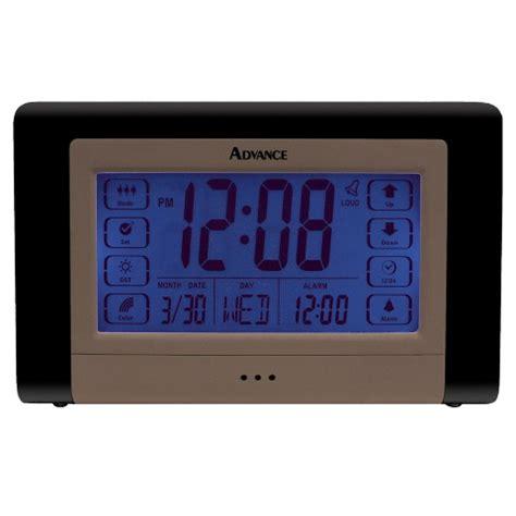 geneva clock company  advance electric lcd touch
