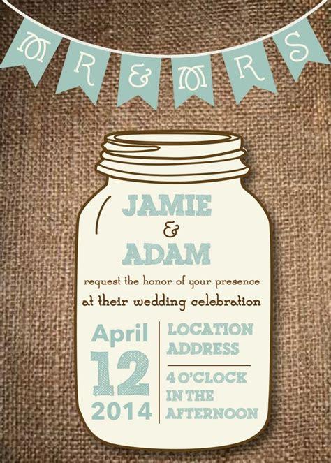 jar invite template 10 best ideas about jar invitations on