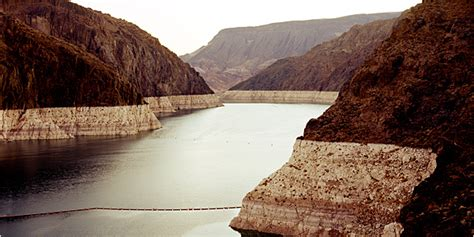 Lake Mead Bathtub Ring New Evidence Shows Colorado River Basin Drying Out