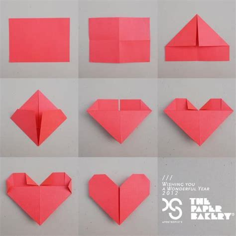 How To Make Hearts From Paper - akmu indonesia on quot how to make the origami