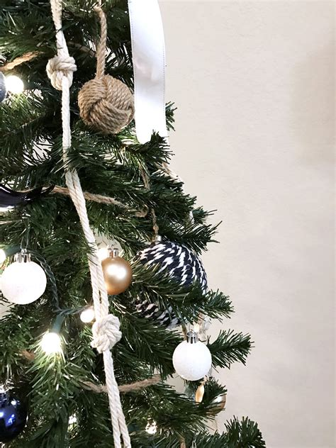 coastal christmas tree nautical themed christmas decor