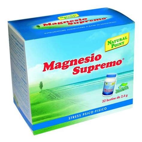 magnesio supremo bambini magnesio supremo 32 bustine farmaciainrete it