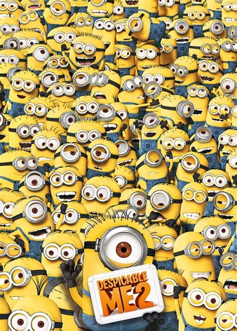printable minion poster despicable me 2 many minions poster sold at europosters