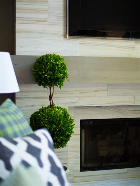 installing a tv above the fireplace hgtv