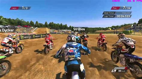 Mxgp Best Dirt Bike Game Play On Nvidia Gt740m Youtube