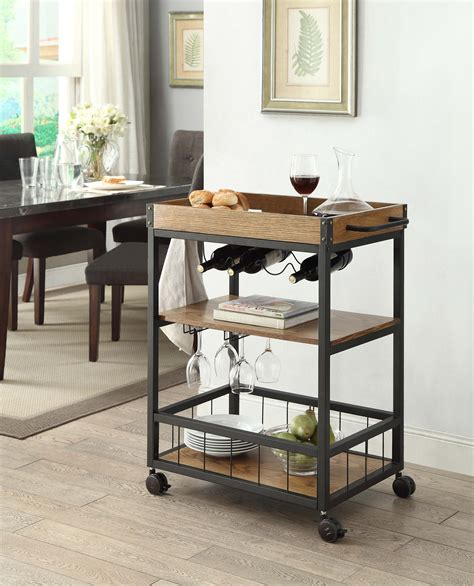 Linon Mitchell Kitchen Cart With Granite Top White by Linon Kitchen Usa