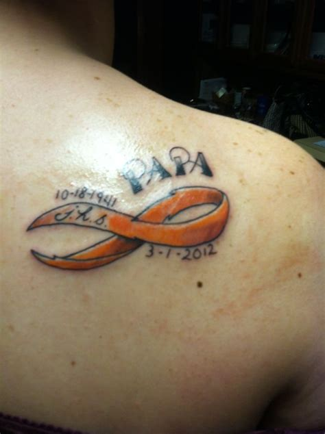leukemia ribbon tattoo 25 best ideas about leukemia on