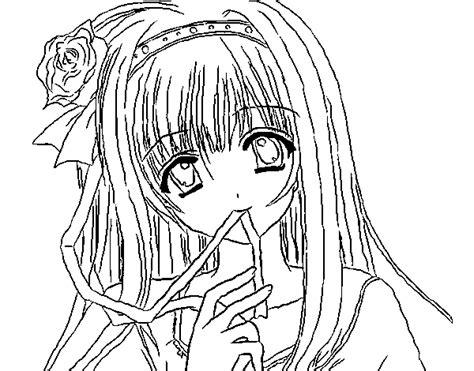 imagenes para dibujar tumblr a color dibujos princesas para pintar de ilustraciones 193 nime