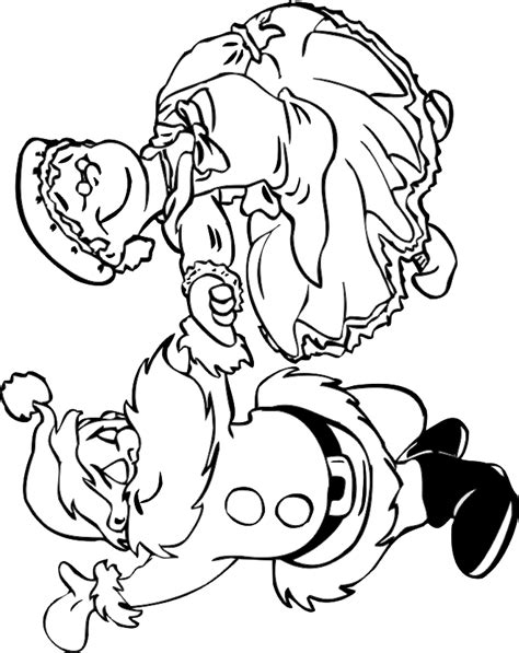 coloring pages of santa and mrs claus mrs claus christmas coloring page coloring pages