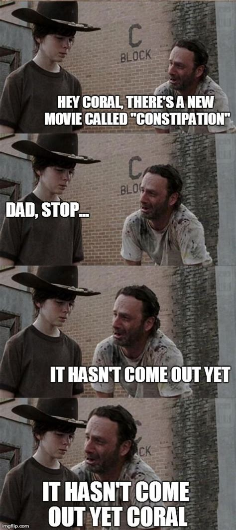 Rick Grimes Crying Meme - the walking dead meme rick and carl www imgkid com the