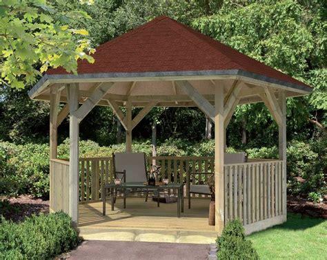 pavillon de jardin avec balustrade en bois massif 7 35m 178