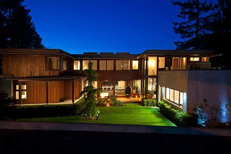 hi tech house 25 million contemporary home in vancouver bc homes of