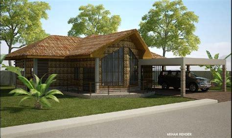 rest house plan modern native house design