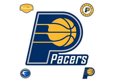 Indiana Pacers indiana pacers logo wall decal shop fathead 174 for indiana