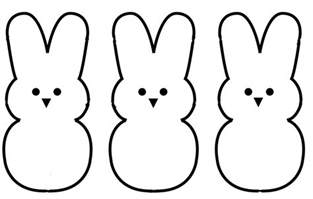 Rabbit Pictures Outline by Bunny Outline Cliparts Co