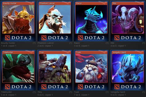 Steam Gift Card Discount - a set of cards dota 2 steam trading cards discounts