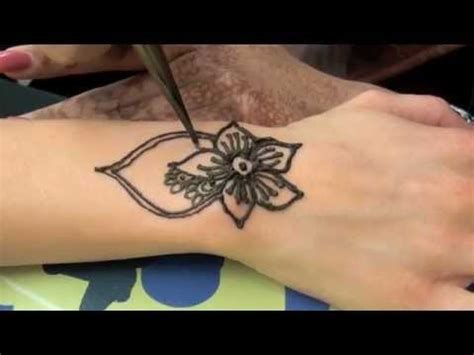 henna tattoo youtube how to the with henna