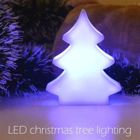 2d led indoor color changing led christmas tree night