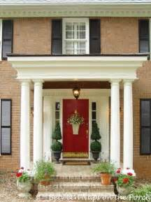 Front Door And Porch Ideas A Beautiful Front Porch Renovation