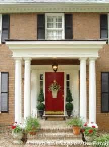 Porch Front Door A Beautiful Front Porch Renovation