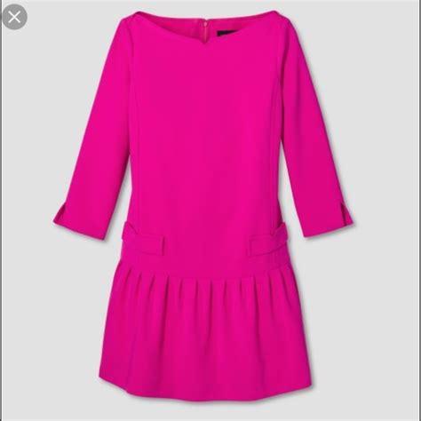 Dress Vb beckham vb fuchsia jacquard drop waist dress from dejon suggested user s closet