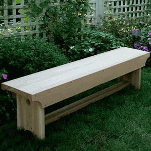 Cedar 1805 Traditional Heavy Duty Bench