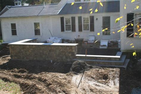 Raised Patio Construction by Raised Patio Masonry Picture Post Contractor Talk
